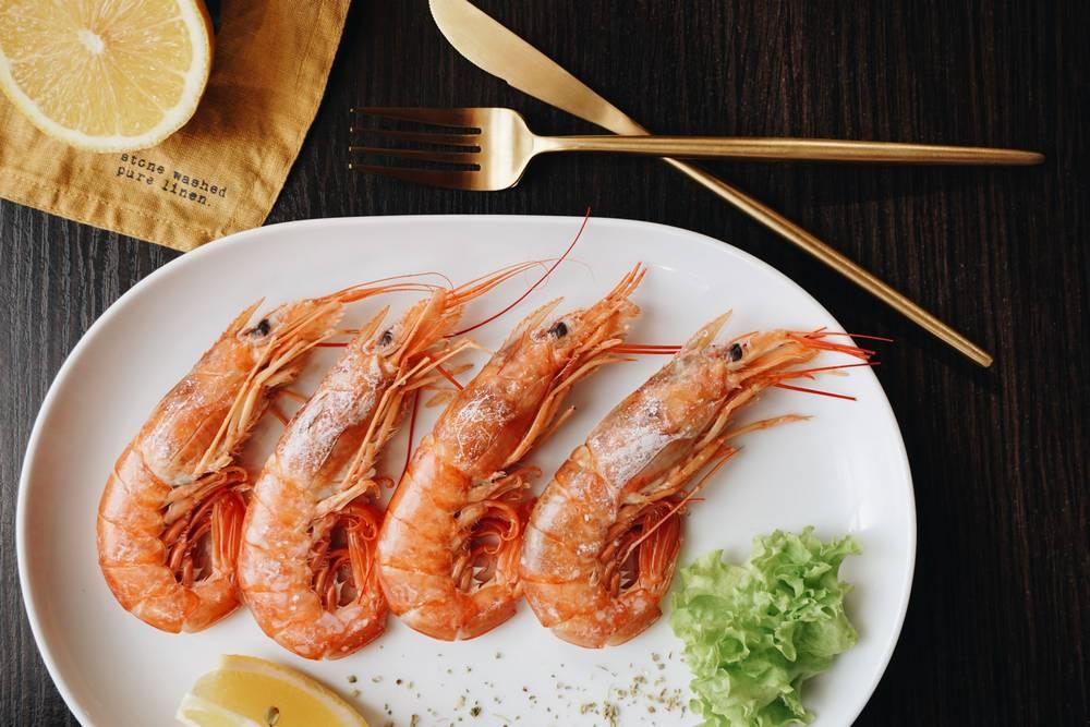 Freeze Cooked Shrimp