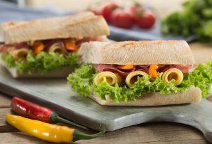 Microwave Mayo On A Sandwich